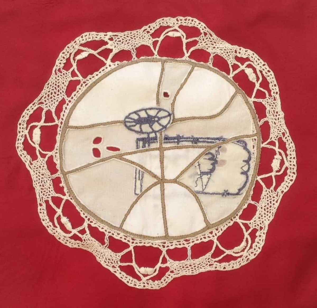 My Mother's Doily, 2014